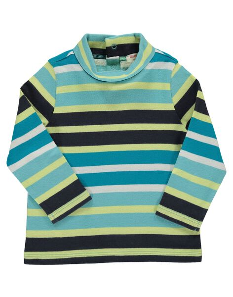 Baby boys' striped polo neck DUGISOUP / 18WG10N1SPL099