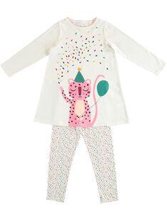 Camicia da notte con leggings bambina JEFACHUPAN / 20SH11C1CHN001