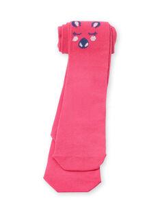 Collant rosa e blu bambina LYABLECOL1 / 21SI01J2COL304