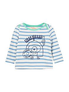 T-shirt a righe neonato FUNETEE2 / 19SG10B2TML099