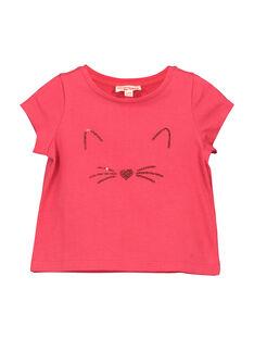 T-shirt fantasia neonata FIJOTI2 / 19SG0932TMC308