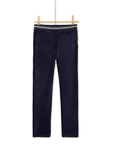 Navy PANTS KAREPANT / 20W901G1PAN070