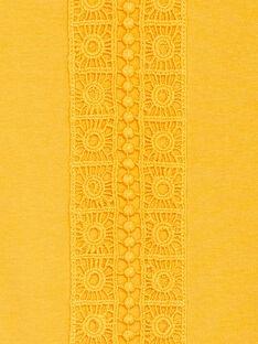 Yellow LONGSLEEVE T-SHIRT KAJOLTEE1 / 20W90139D32107