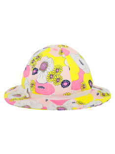 Cappello con stampa bambina FYAPOHAT1 / 19SI01C1CHA099