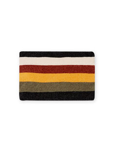 Scaldacollo a righe maglia ciniglia bambino MYOGROSNO6 / 21WI0268SNO809
