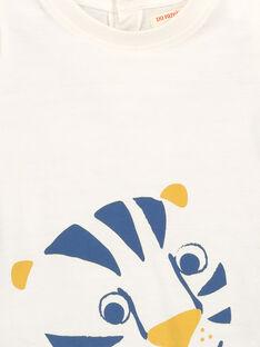 T-shirt maniche corte neonato FUJOTI2 / 19SG1032TMC001