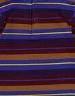 Dolcevita a righe jersey neonato GUVIOSOUP / 19WG10R1SPL711