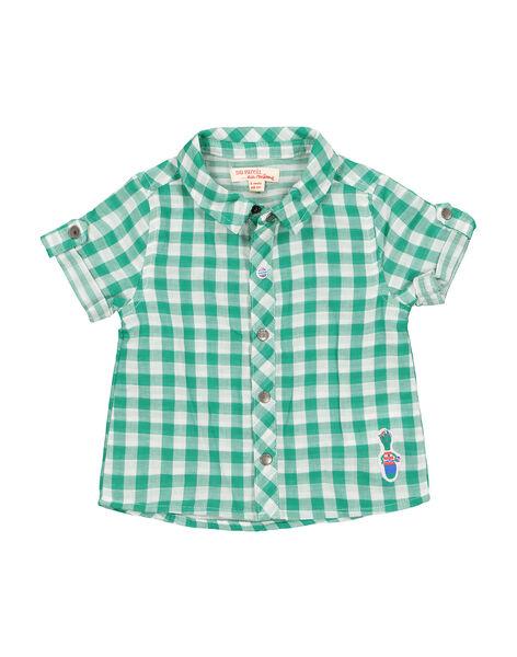 Camicia a quadri neonato FUCACHEM / 19SG10D1CHM099