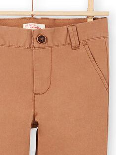 Pantaloni a tinta unita bambino MOESPACHI2 / 21W902E1PANI810