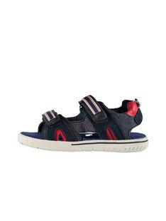 Sandali da città bimateriale bambino FGSANDSPOR / 19SK36D1D0E070