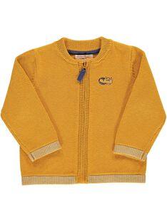 Baby boys' zipped cardigan DUJOGIL5 / 18WG1035GIL104