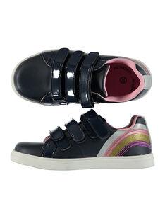 Sneakers da città con paillettes bambina FFBASMAR / 19SK3532D3F070