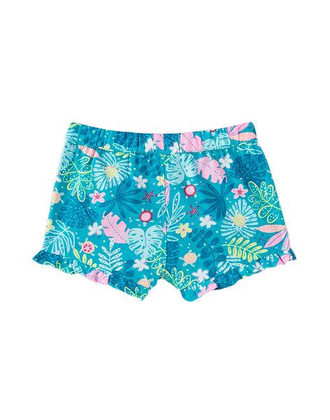 Shorts con stampa neonata JIQUASHO1 / 20SG09R1SHO621