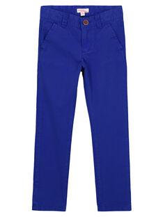 Pantaloni chino Cobalto GOJOPACHI3 / 19W90247D2B720