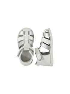 Sandali da città pelle flessibili neonata FBFSANDFLEX / 19SK37C2D0E000