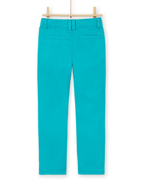 Pantaloni blu in cotone bambino LOJOPACHI3 / 21S90236PANC215