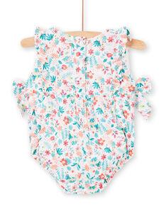 Pagliaccetto bianco neonata LIBONBAR / 21SG09W1BAR000