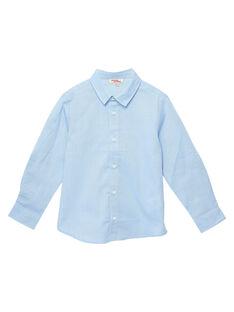 Camicia bambino azzurra JOESCHEM1 / 20S90262D4GC218