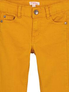 Pantaloni Slim Stretch Ocra GOJOPATWI2 / 19W90248D2B107