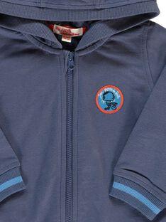 Baby boys' zip-up hoodie CUJOJOH1 / 18SG10R2JGHC202