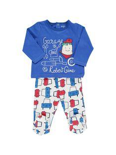 Baby boys' cotton pyjamas CEGUPYJGAR / 18SH1441PYJ201
